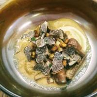 Ravioli de liebre al oloroso con trufa